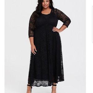 Torrid Lace Maxi Dress